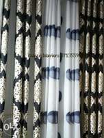Floral curtains with matchy sheers