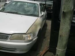 TOYOTA COROLLA 16V Stripping for spares