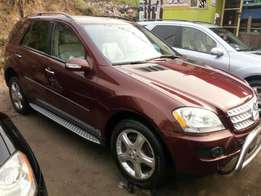 Foreign used 2007 Mercedes Benz Ml350 4matic. Direct tokunbo