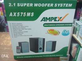 Ampex subwoofers brand new