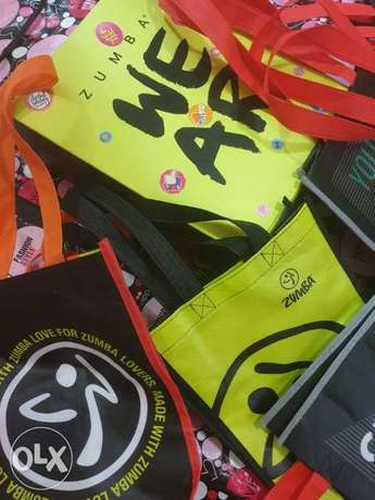 Zumba official bags