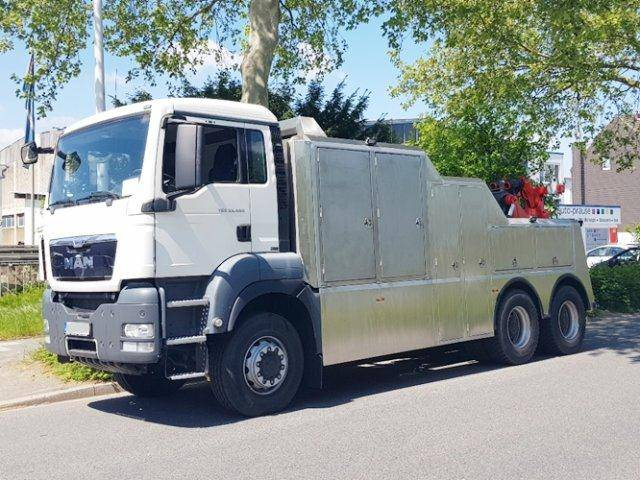 MAN TGS 33.480 6x6 BB TGS 33.480 6x6 BB Abschleppwagen mit Funk