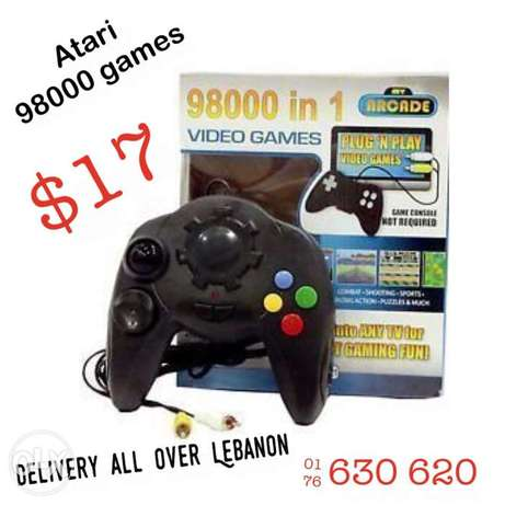 98000 games $17 - delivery available