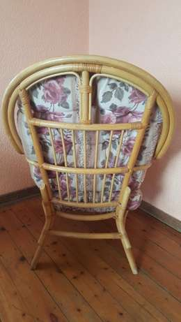 Pair of Cane Chairs With Cushions Kensington - image 4