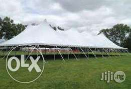 Biggest canopy size for rent