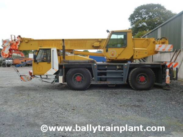 PPM 350 Att All Terrain Crane - 1999