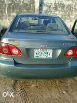 8 months used toyota corola 05 buy n travel tincan cleared