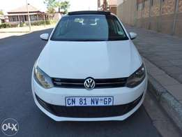 2013 Vw polo 6 1.4 comfortline for sale at R160000