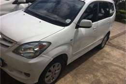 Pre owned toyota avanza