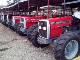 Massey Ferguson 385 4WD Optional, With Manufacturer Warranty