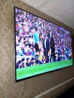 "A 75"" full HD LED smart Samsung TV"
