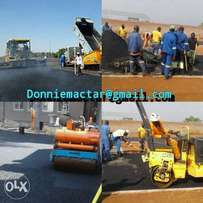 Tarriing drive ways and paving