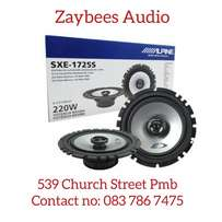 Alpine SXE 1725S co axial 2 way speaker system.