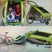 Kids Jogger, stroller and bicycle trailer