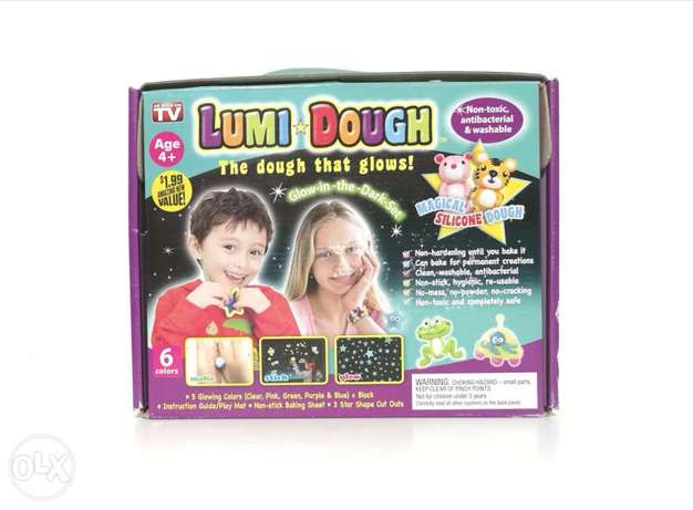 Lumi dough the dough that glows ages 4+