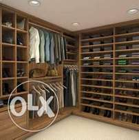 Walk-in closets at affordable prices