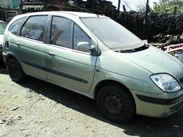 2001 Renault Scenic Stripping for Spares