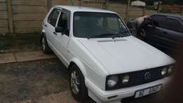 Selling my 1.4 golf in good condition car is in mandini