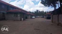 18 units of Zoned 3 bedroom maisonettes with a Dsq in a gated communit