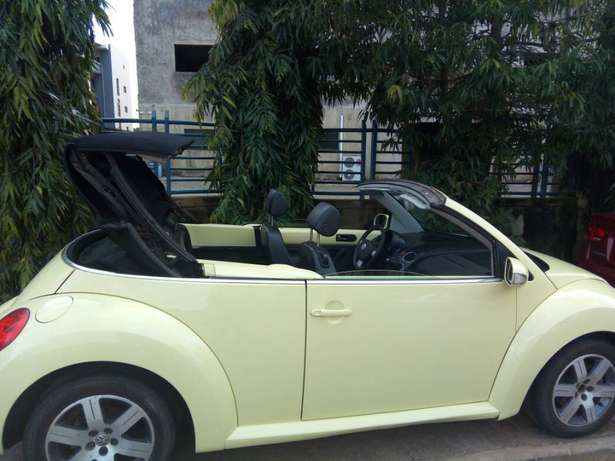 2006 Used Volkswagen Beetle Convertible for sale... Lugbe - image 2