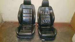 Golf 4 gti recaro leather seats and 4 leather door panels