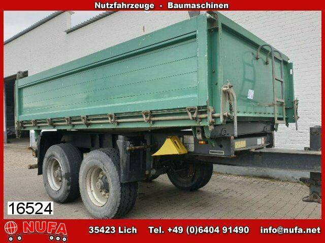 Schmitz Cargobull ZKI 18-4.9 Tandem Alu Kipper - 2006