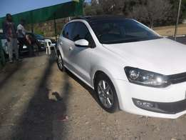 2011 VW Polo 6 1.4 with a sunroof for sale