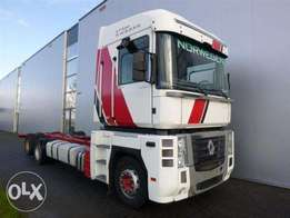 Renault Magnum 520 6x2 Chassis Euro 5 - To be Imported