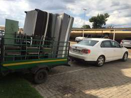 Transport Services - Driver With Trailer For Hire