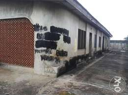 A bungalow of 2 units of 3bedrooms on a plot for sale in Ajegunle N12m