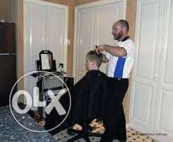 Home service professional barber