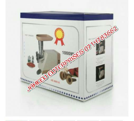 Electric Meat mincer new 1000watts Nairobi CBD - image 3