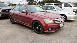 Maroon Colored Nig Used Merc-Benz C300 4matic 2008 Model In Good Cond