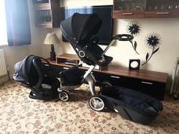 Stokke Xplory V4 Complete Travel System - Great Condition