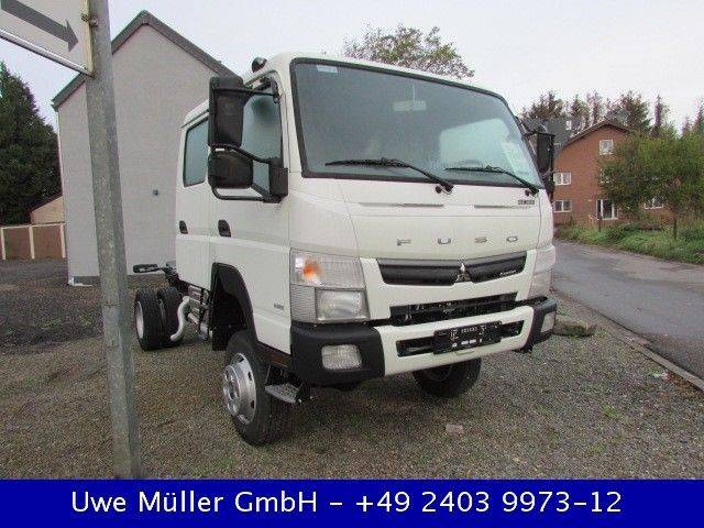 Mitsubishi Canter 6 C 18 D - 4x4 Fahrgestell - 2018