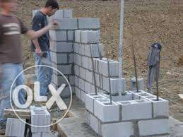 We provide all types of labour and masonry