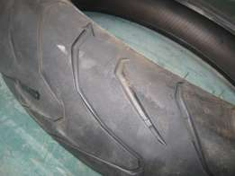 Second Hand - Front Super Bike Tyre - R350.00