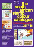 South African Stamp Colour Catalogue 35th edition 2017/18