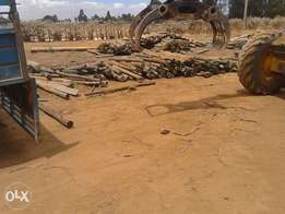 Treated posts fencing, construction etc clearance