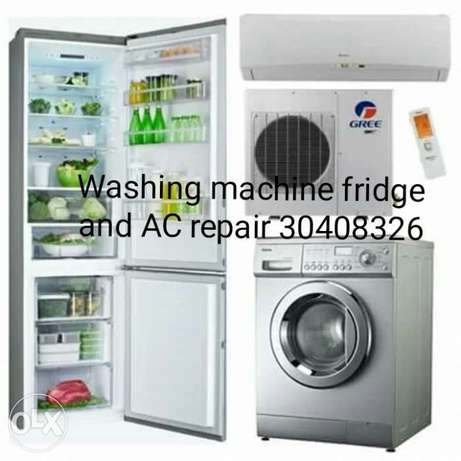 Washing machine AC fridge repair