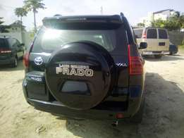 2013 mint condition bullet proof toyota prado up for sale