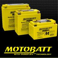 Motobatt Gel batteries and chargers for all motorcycles.