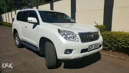 Available for Hire Toyota Prado