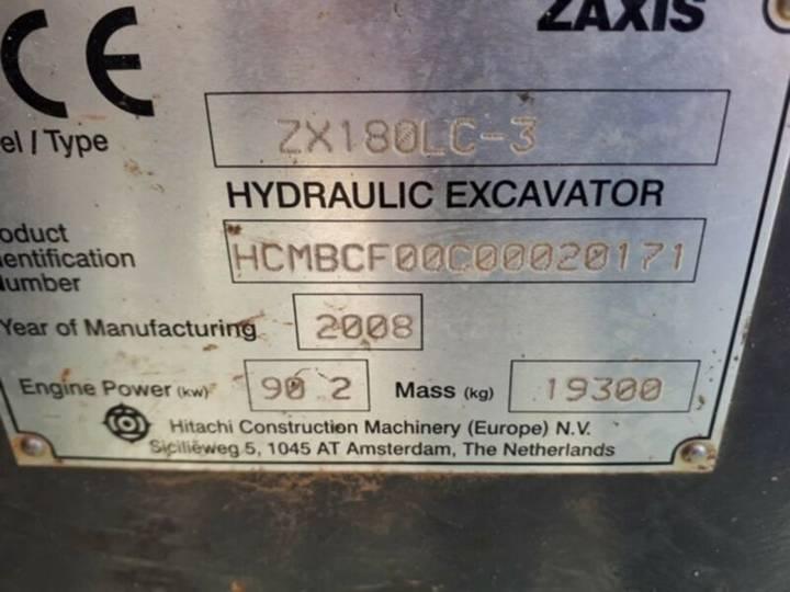 Hitachi Zx180lc-3 **bj2008 *12000h** - 2008 - image 7