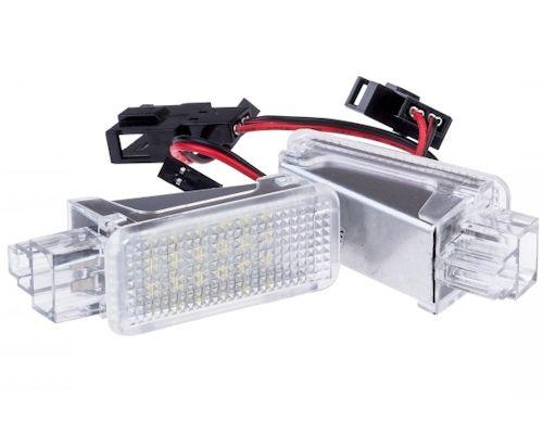 Einparts Lampki Led Wnętrza Drzwi Audi A2 A3 8p A4 B5 B6 B7