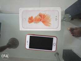 Apple iphone 6s for sale with th pack recipt and charger