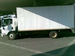 Truck for Moving your household contents or other goods.