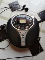 Portable CD Player With Headphones For Sale
