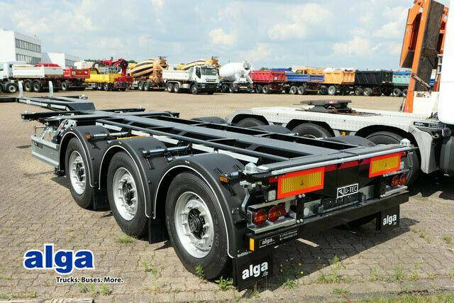 D TEC FT LS S, Flexitrailer, Multi, Container Chassis! - 2019