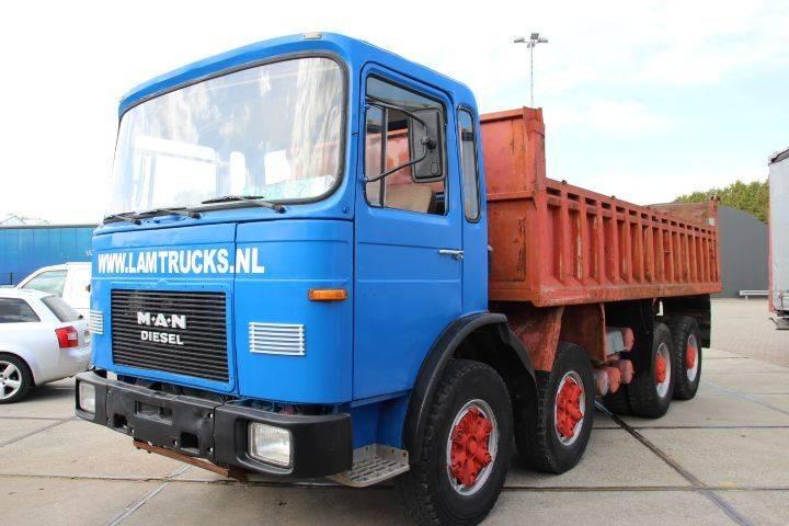 MAN 30.321 8X4 ZF - 1984